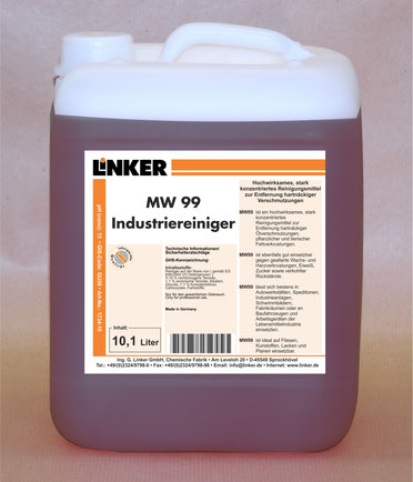 MW99 Industriereiniger_Linker Chemie-Group, w99, einszett w99 Alternative
