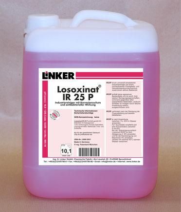 Losoxinat IR 25 P, Industriereiniger, Rostschutz, Dampfphasenkorrosionsschutz