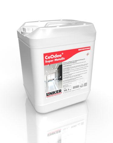 CeOdee® Super Metallic _Linker Chemie-Group, Reinigungschemie, Reinigungsmittel, Beschichtung, Beschichtungen, Selbstglanzdispersionen