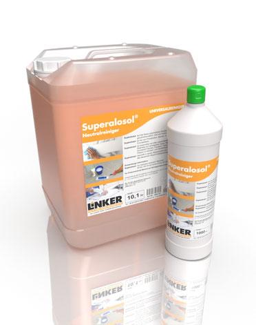 Superalosol_Linker Chemie-Group, Reinigungschemie, Reinigungsmittel, Neutralreiniger
