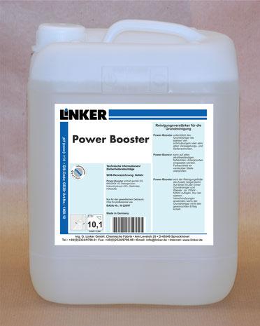 Power Booster, Reinigungsverstärker