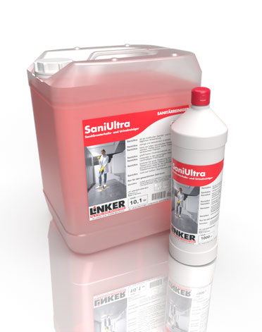 SaniUltra, Sanitär Unterhaltsreiniger, Linker-chemie
