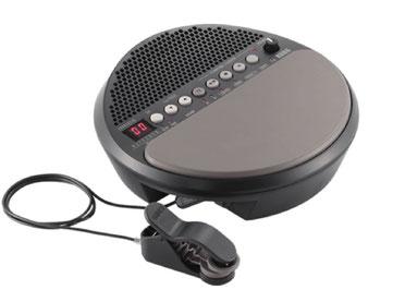 Wavedrum Mini - die innovativemit integriertem Lautsprecher, Batteriebetrieb und revolutionärem Sensor Clip