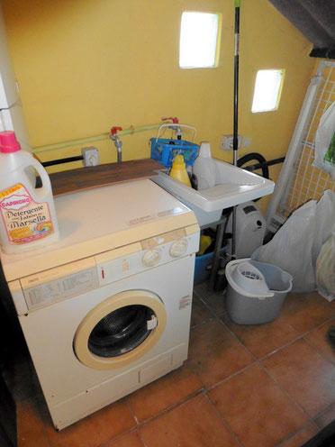 Separater Wasch- und Abstellraum