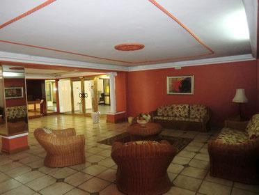 Eingangsbereich der Anlage