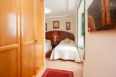 Einbauschrank im zweiten Schlafzimmer