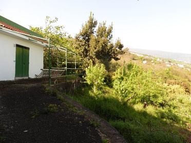 Blick auf das Lagerhaus