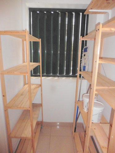 Abstell- und Vorratsraum