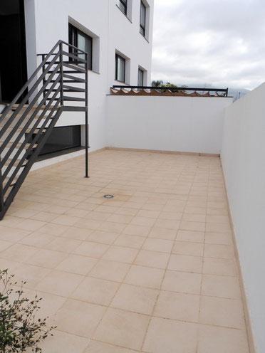 Hintere Terrasse