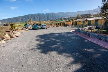 Parkplatz von der Finca