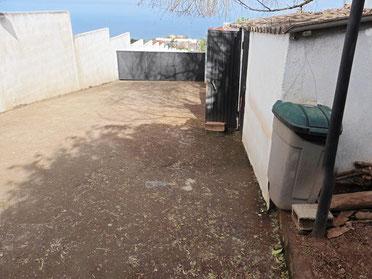 Zugang zum hinteren Garten