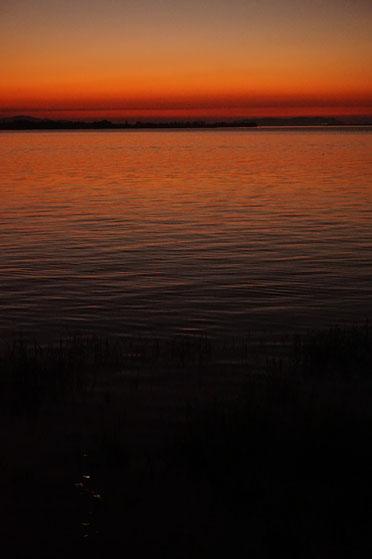 Dämmerung,  Sonnenuntergang, Meer, Seele, Leben