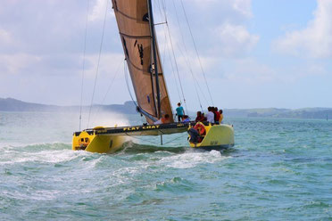 40' Racing catamaran Flat Chat