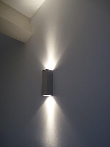 Eclairage en applique dans une maison à Marseille 13008