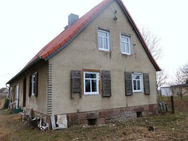 Hier entsteht unsere Auffangstation in Pfaffendorf