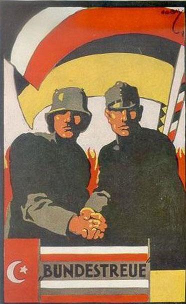 """zeitgen. Patriotika """"Achsenmächte"""" (DHM)"""