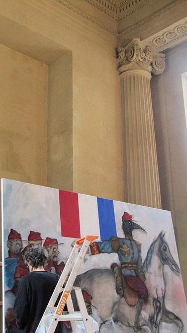 Eloi Valat peinture Saint-Denis