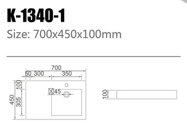 Waschtisch K-1340-1