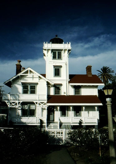 The classic old Pt. Fermin Lighthouse, San Pedro, California.