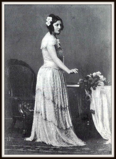 Giuseppe Verdi LA TRAVIATA  (Violetta) - Buenos Aires 1920