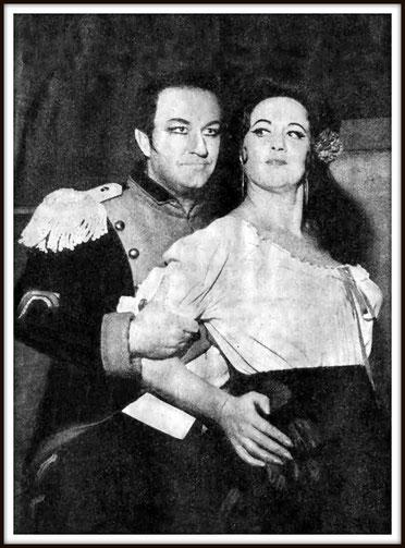 Carmen - Don José - con Adriana Lazzarini (Carmen)