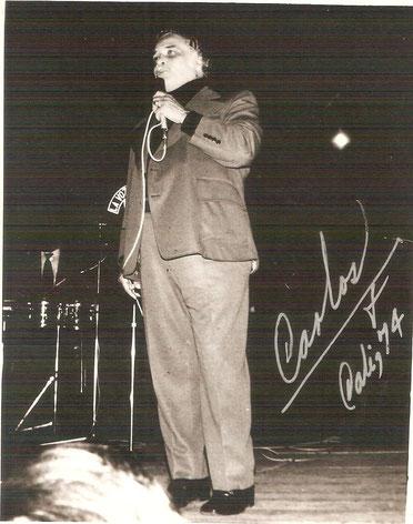 El Jefe en Cali, 1974 (Foto Carlos Molina).