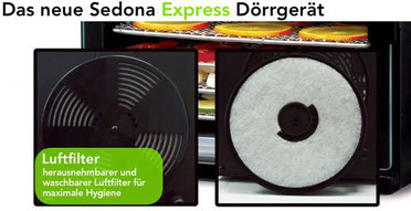 sedona express luftfilter system