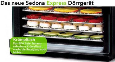 sedona express kruemelfach