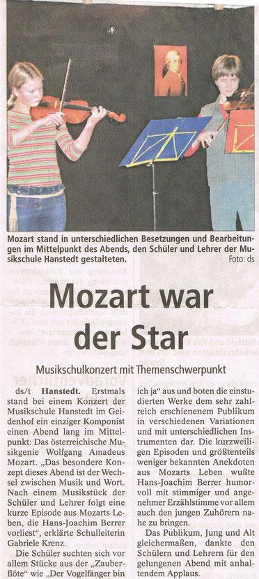 Winsener Anzeiger 02.11.2004