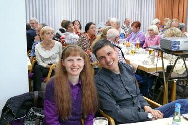 Petra Krämer, die neue 2. Vorsitzende und Thomas Krämer, Kassier
