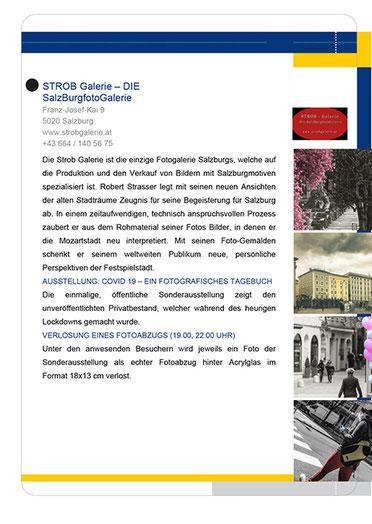 Programm der STROB Galerie für die Lange Nacht der Museen 2020