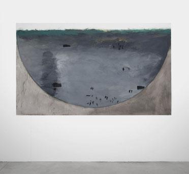 Studie Waldmutter 1 (195) 1994 Ölfarbe 150,5 x 251 cm