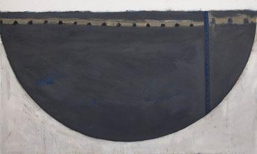 Studie Waldmutter 2 (196) 1994 Ölfarbe 150,5 x 250,5 cm