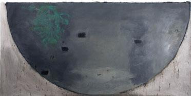 Studie Waldmutter 4 (198) 1994 Ölfarbe 150,5 x 299,5 cm