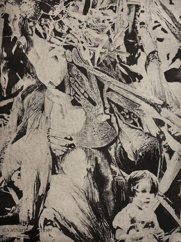 Geburt  Intagliotypie, 41cm x 28,5cm, 2017