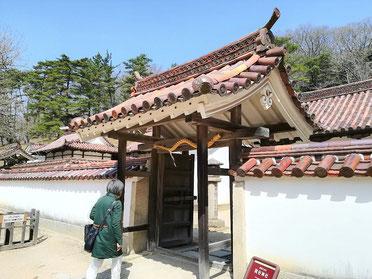 閑谷神社 中門[重文]