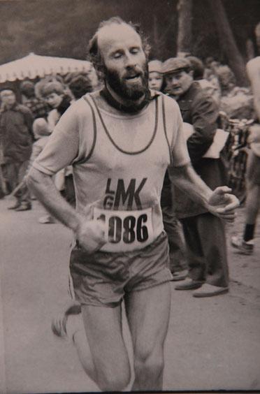 Deutscher Meister über 10 000 Meter M45 Heinrich Braun, Foto: H. Schaake