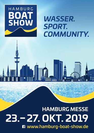 Hamburg Boat Show 2019 Plakat