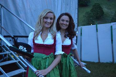 Sigrid und Marina 2014 im Bündelti