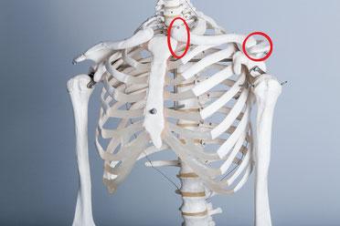 肩こりで鎖骨が痛い奈良県葛城市の女性