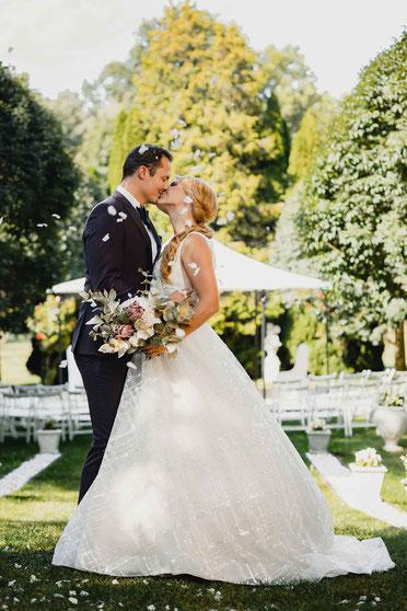 Hochzeitsfotos Schloss Wulkow