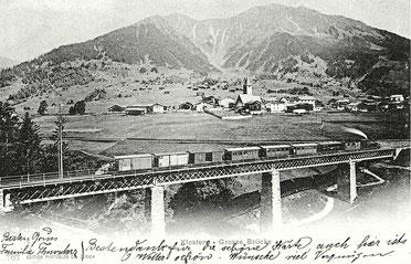 Edition Photoglob Zürich, gestempelt 07.Juni 1902