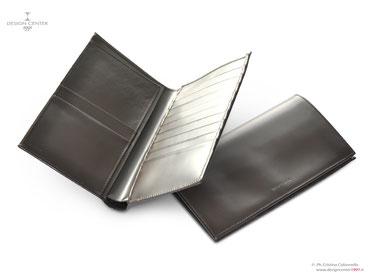 Portafogli uomo in pelle -scomparti per carte di credito e biglietti visita