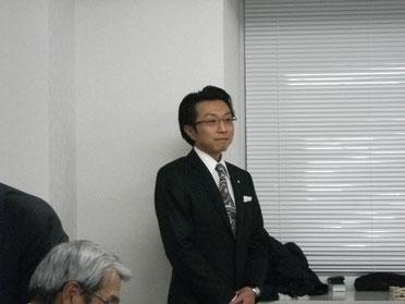 傍島啓介さんの講演の様子