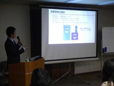 大川さんの講演の様子 その3