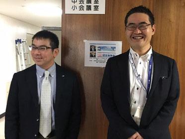 講師集合写真 左から、今井清孝・原田塾長