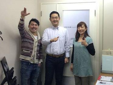 最終日に原田さんの会社に遊びに来ました♪