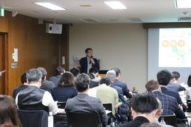 松本さんの講演の様子 その3