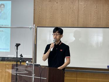 仙台大家の会 現地世話人 菅原 貴博 氏