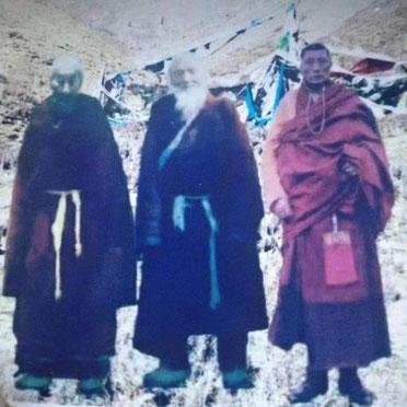 Trois Tokden, Maîtres réalisés  : Tokden Drimé Yundrung, Tokden Tsultrim Gawa, Tokden Sherab Phutsog